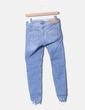 Jeans denim pitillo bordado Zara