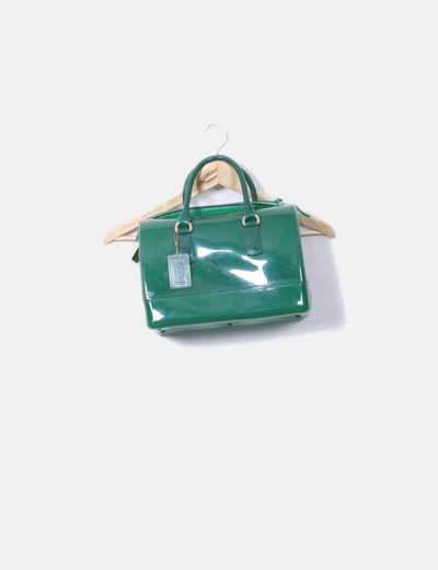 Mala verde mala de boliche Furla