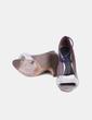 Sandalia  lazo con tira morada Hoss Intropia