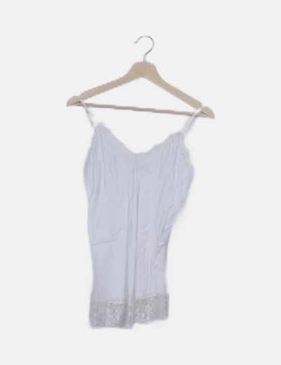 Blusa lencera blanca
