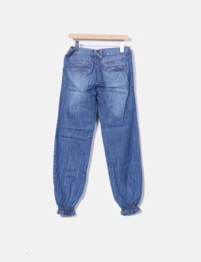 Jeans denim baggy azul