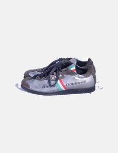 fbaa085d7 Sneaker combinada estampada Dolce   Gabbana