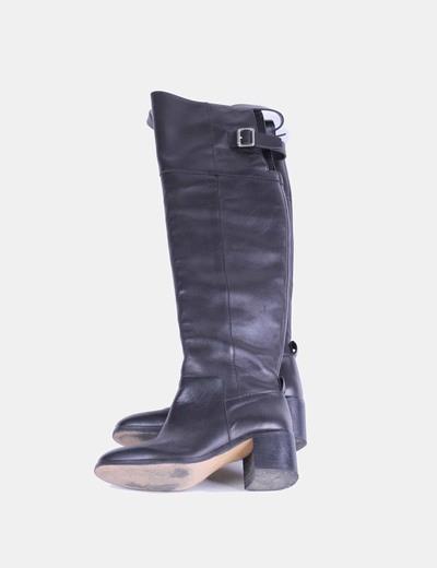 Botas corsario negras Zara