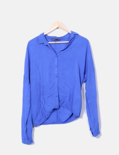 Blusa azul klein fluida Shana