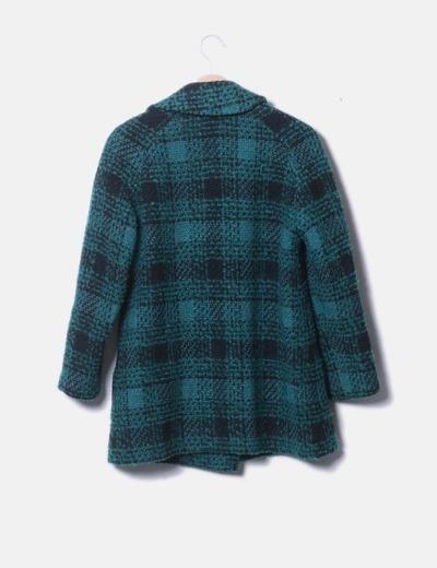 1ba4029afb9 NoName Abrigo lana verde (descuento 79%) - Micolet