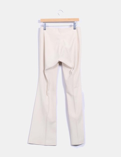 Pantalon sarga beige