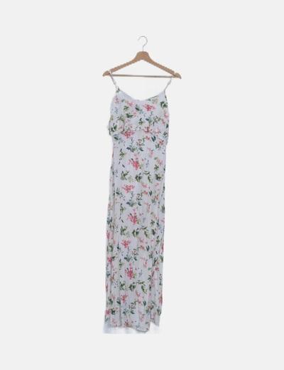 Vestido tirantes blanco floral