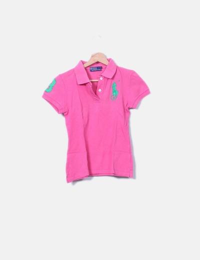 Polo rosa Ralph Lauren