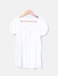 Camiseta beige detalle crochet Sfera
