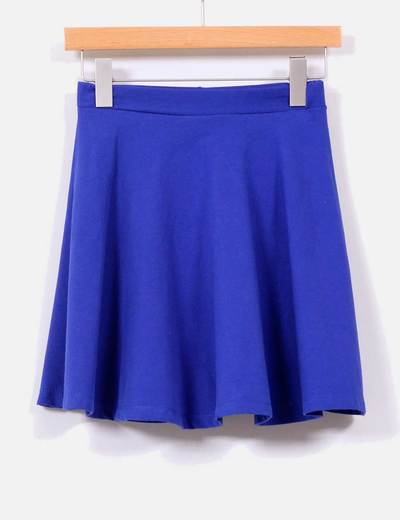 8f641b9988 Shana Falda con vuelo azul klein (descuento 77%) - Micolet