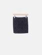 Mini falda negra terciopelo Suiteblanco