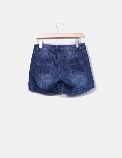 Bermudas denim dobladillo