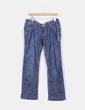 Jeans denim recto azul oscuro Skunkfunk
