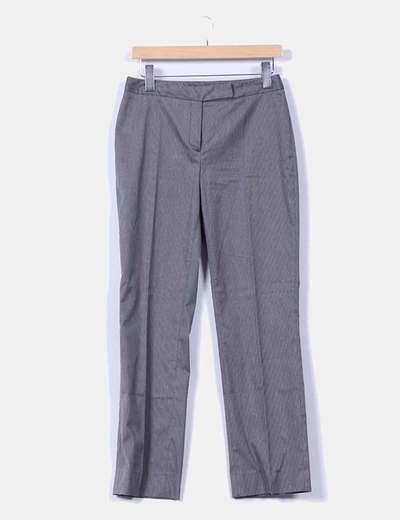 Pantalón gris de pinzas Yera