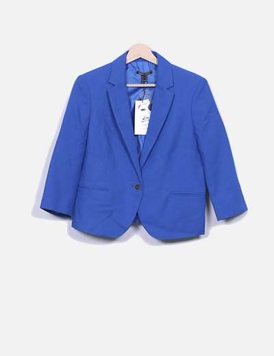 Blazer azul klein Suiteblanco