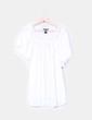 Blusa en crudo con detalles en encaje H&M