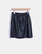 Falda mini polipiel  Zara