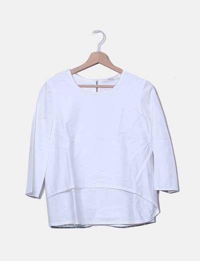 Chemise blanche Uterqüe