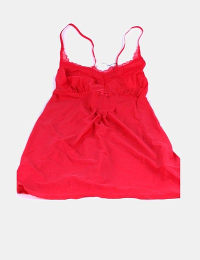 Conjunto lencería rojo PROMISE ROSER SAMON