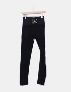 Leggings negro cintura elástica tiro alto Holy Preppy 3a50e53e26cb