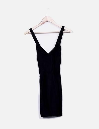 Vestido negro bandage