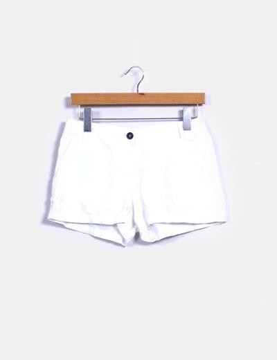 Short blanco Mango