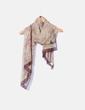 Pañuelo estampado de seda NoName