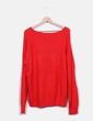 Jersey punto rojo print H&M