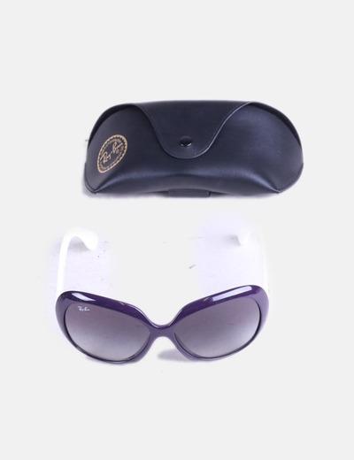 Micolet vintage Ray 64 Ban violettes soleil de Lunettes réduction w7T8q7SXx