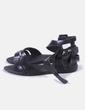 Sandalias de goma negras Melissa
