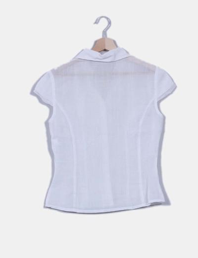 Blusa cruda semi transparente