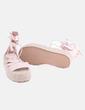 Sandalias plataforma rosa texturizada Stradivarius