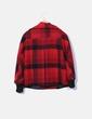 Abrigo rojo de cuadros Ichi