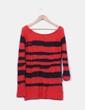 Jersey rojo y negro de rayas H&M
