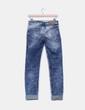 Pantalón de nim efecto desgastado H&M