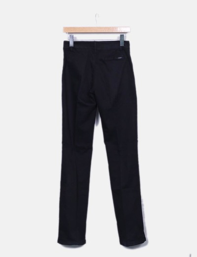 Pantalon negro recto