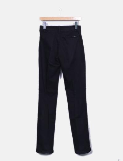 fb5e71bbea Nice Things Pantalon negro recto (descuento 99%) - Micolet