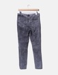 Pantalón denim desgastado con cremallera H&M