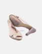 Chaussures beiges à talons chaussures vernies Tex Woman