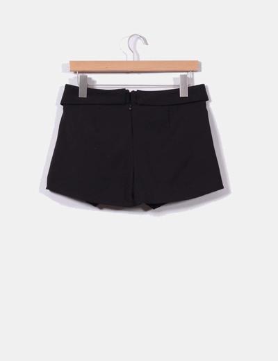 Falda pantalon negra