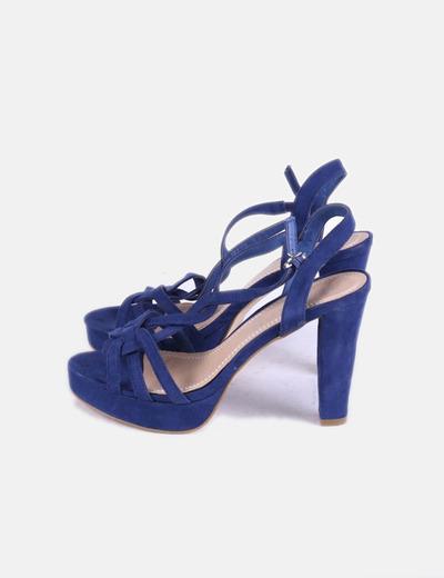 de3b7056bbac1 Marypaz Sandalias azules con tacón (descuento 77%) - Micolet