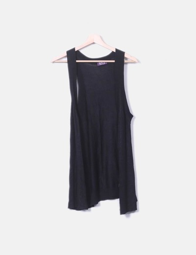 Chaleco tricot negro NKN Nekane