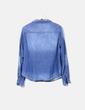 Camisa denim con botones H&M