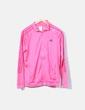 Sudadera rosa satinada Adidas