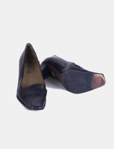 Zapatos kitten heels negros