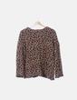 Jersey animal print detalle espalda Zara