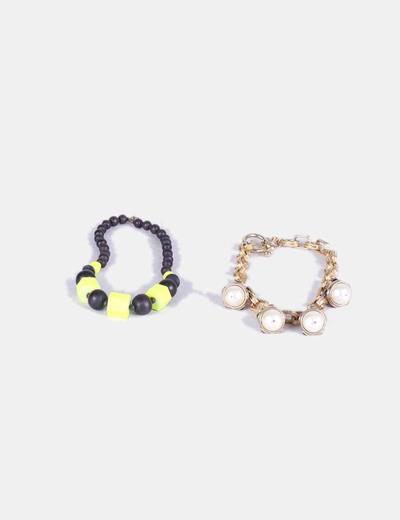 Conjunto de collares NoName