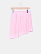 Falda rosa palo plisada Zara