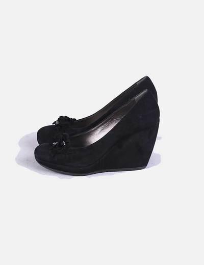 descuento Con 82 Micolet Geox Negros Zapatos Cuña WHEUEIaq