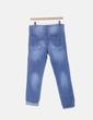 Jeans denim azul patchwork NoName